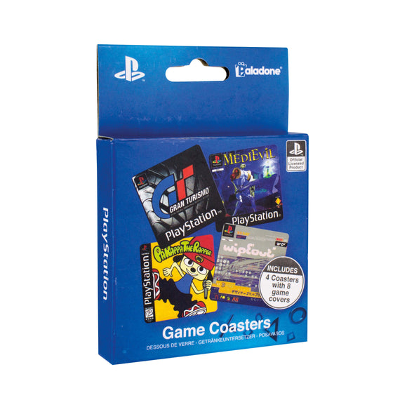 Playstation Game Cover Coasters Box