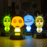 Rick and Morty Collectable 3D Icon Lights