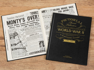 WW2 Pictorial Edition Newspaper Book