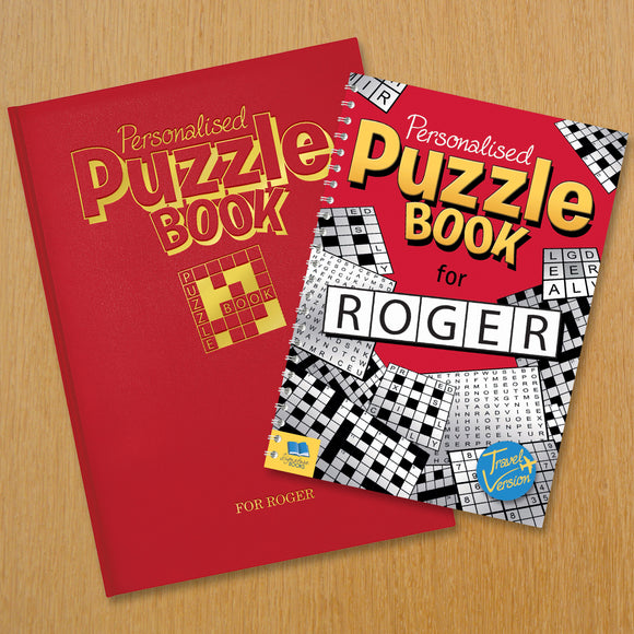 Personalised Puzzle Book