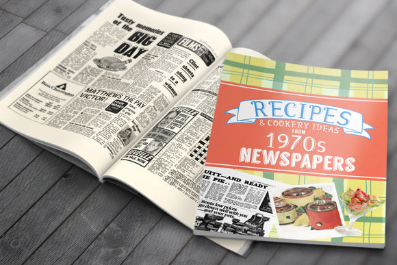 Recipes from 1970s Newspapers