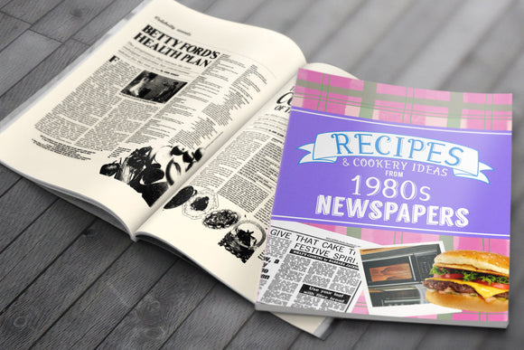 Recipes from 1980s Newspapers