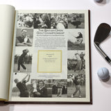 Personalised The Open Golf Book