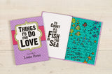 Things I'd Do for Love Personalised Book