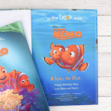 Personalised Disney Finding Nemo Story Book