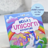 Unicorn Story Personalised Book and Plush Toy Giftset
