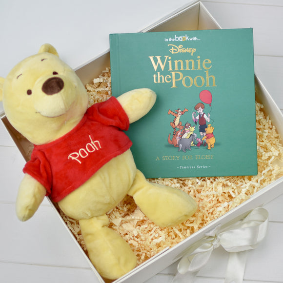 Disney Winnie-the-Pooh Personalised Book and Plush Toy Giftset
