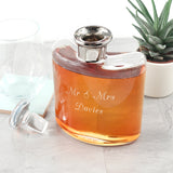 LSA Personalised Platinum Necked Decanter