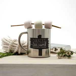 Cool Camper Driftwood Outdoor Mug