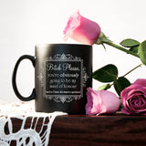 Bitch Please Maid of Honour Wedding Black Mug