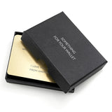 Love Note Metal Wallet Keepsake