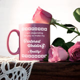 Planning Pinterest Wedding Bridesmaid Mug