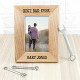 Wordsworth Collection Personalised Oak Photo Frame