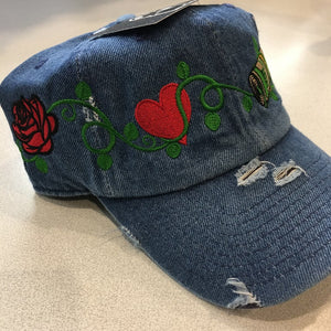 Rose Money Vine Dad Cap