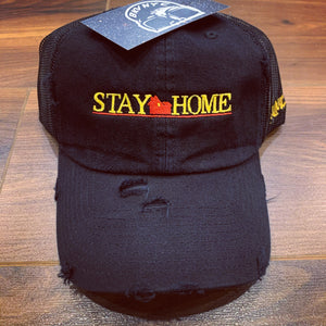 Black Stay Home Dad Cap Or Trucker Dad Cap