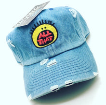 Denim Distressed AII THVT Dad Cap Hat