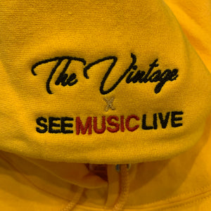 The Vintage x See Music Live BLM Black Leaders Collab Hoodie