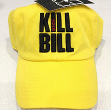 Yellow Klll Blll Dad Cap Hat