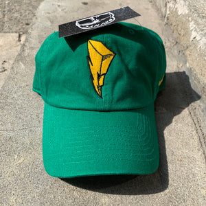 Kelly Green Bolt Dad Cap Hat