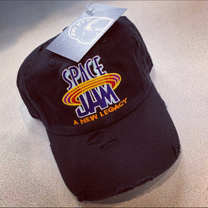 "Black NEW ""Space Jam"" Hat Dad Cap Or Snapback Options Available LIMITED!!!"