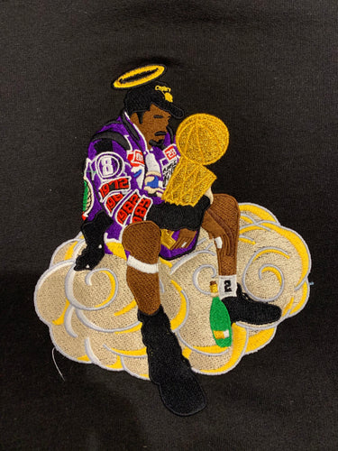 Championships In Heaven Embroidered Hoodie 2 Diff. Colors