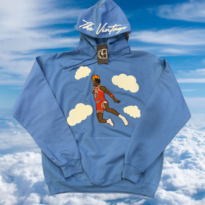 Sky Blue Free throw Line Dunk Hoodie
