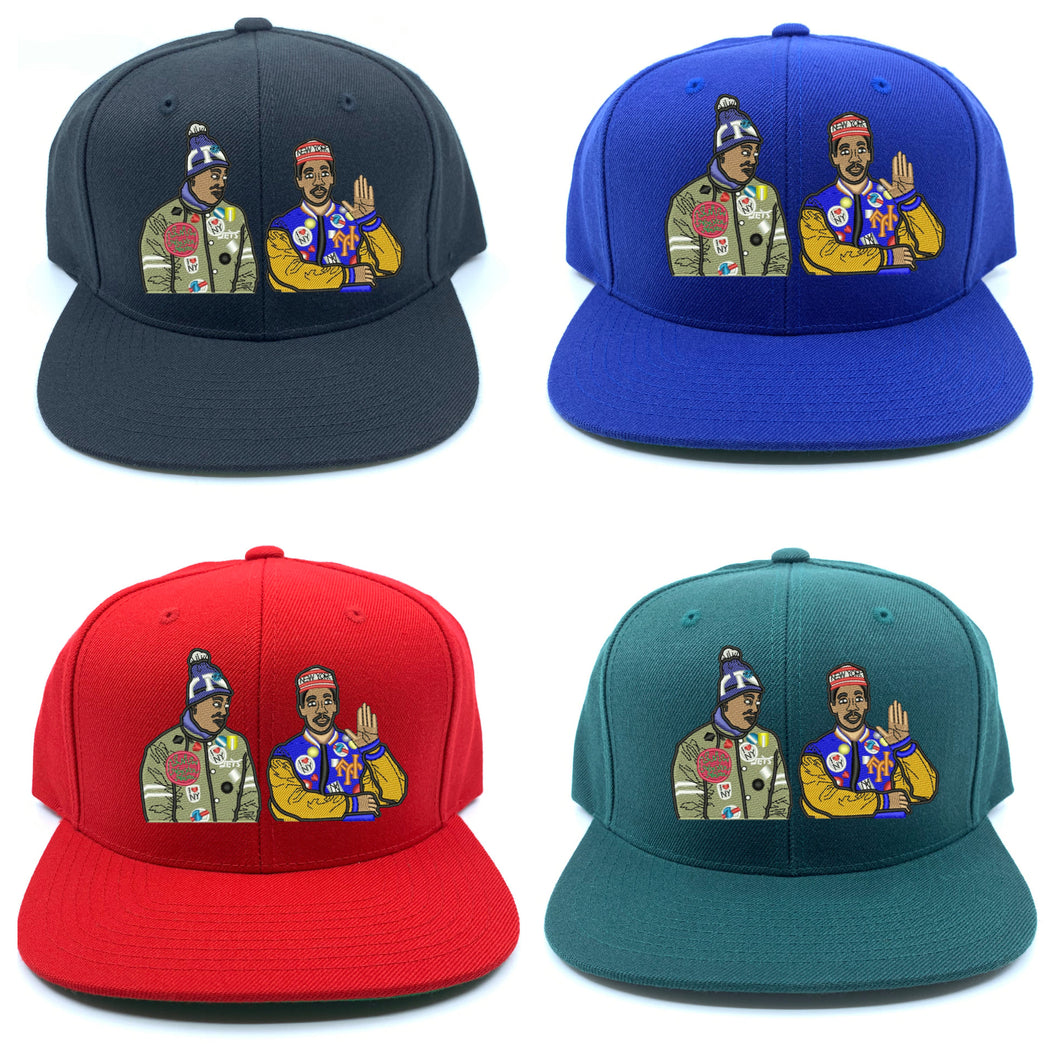 Coming To America Snapback Hat