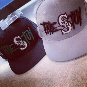 The Stuy Snapback Hat With Green Bottom