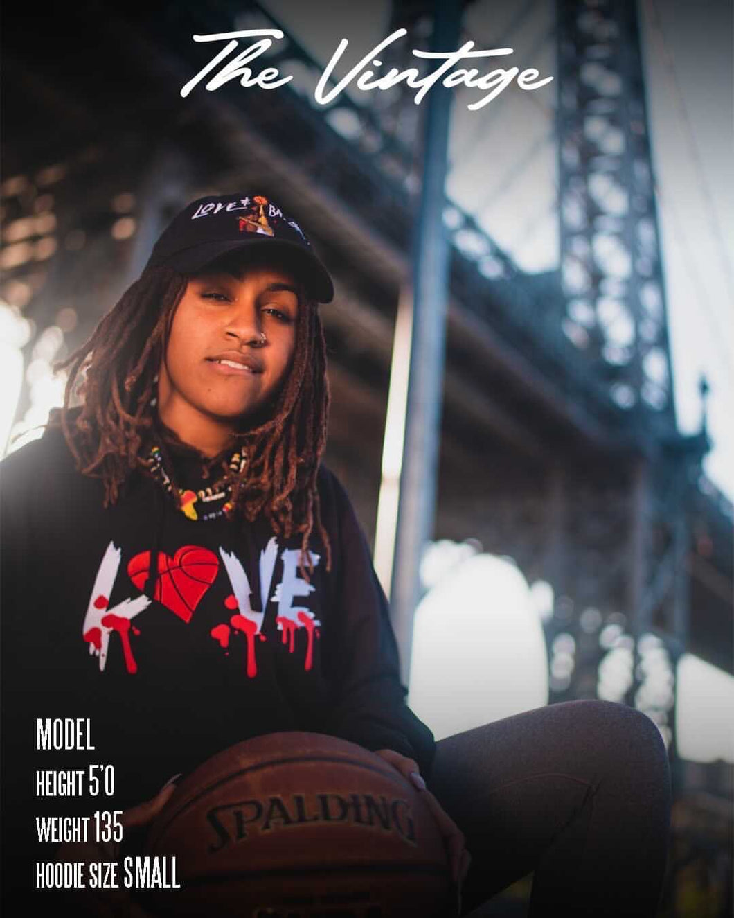 Black Love & Basketball Hoodie