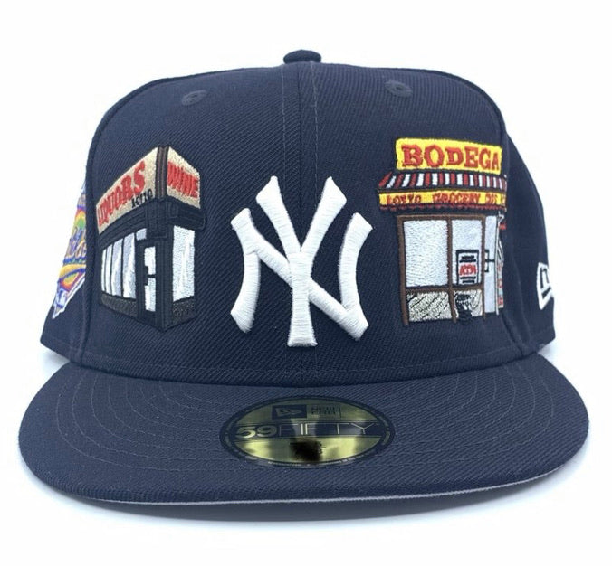Snapback!!! NY Yankees The Real NY Food & Liquor New Era Navy LIMITED!!!