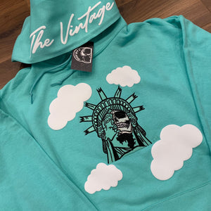Mint Statue Of Lit-Berty Embroidered Sweater
