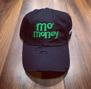 Black Mo' Money Dad Cap Hat