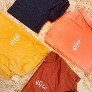Mini Hello T-Shirts
