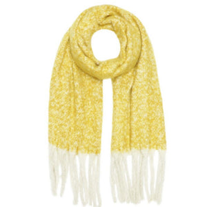 Block Mustard Supersoft Scarf