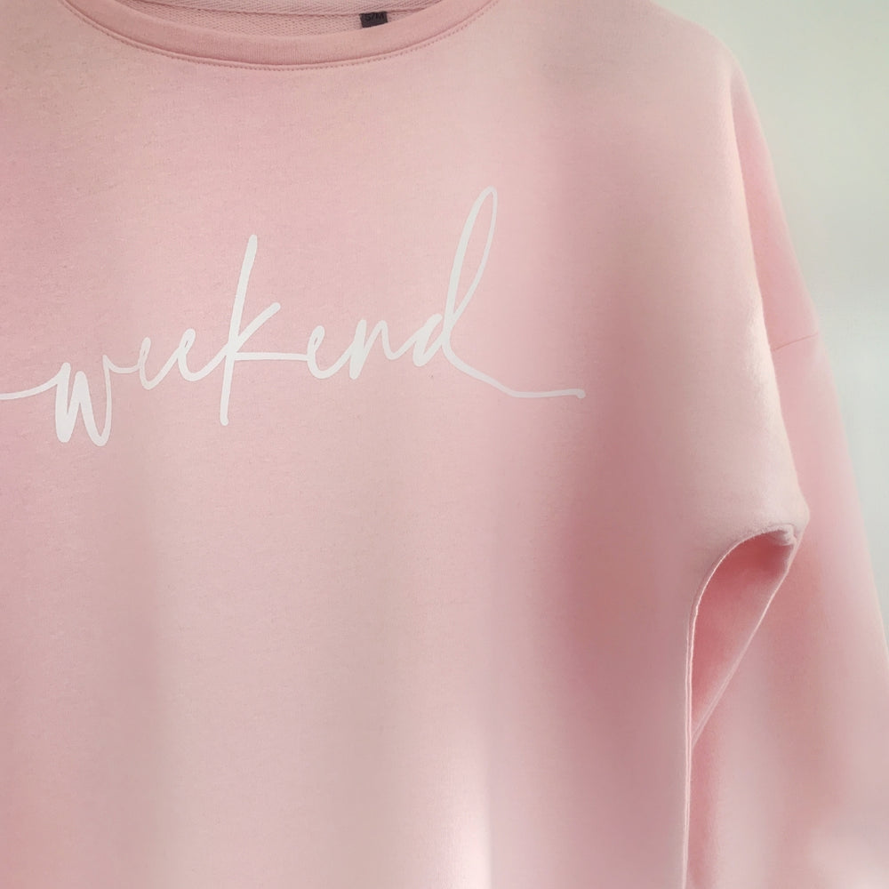 Pink Weekend Sweatshirt