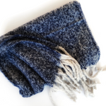Block Navy Supersoft Scarf