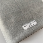 Block Grey Cashmere Mix Scarf