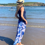 Lulu Blue Beach Wrap