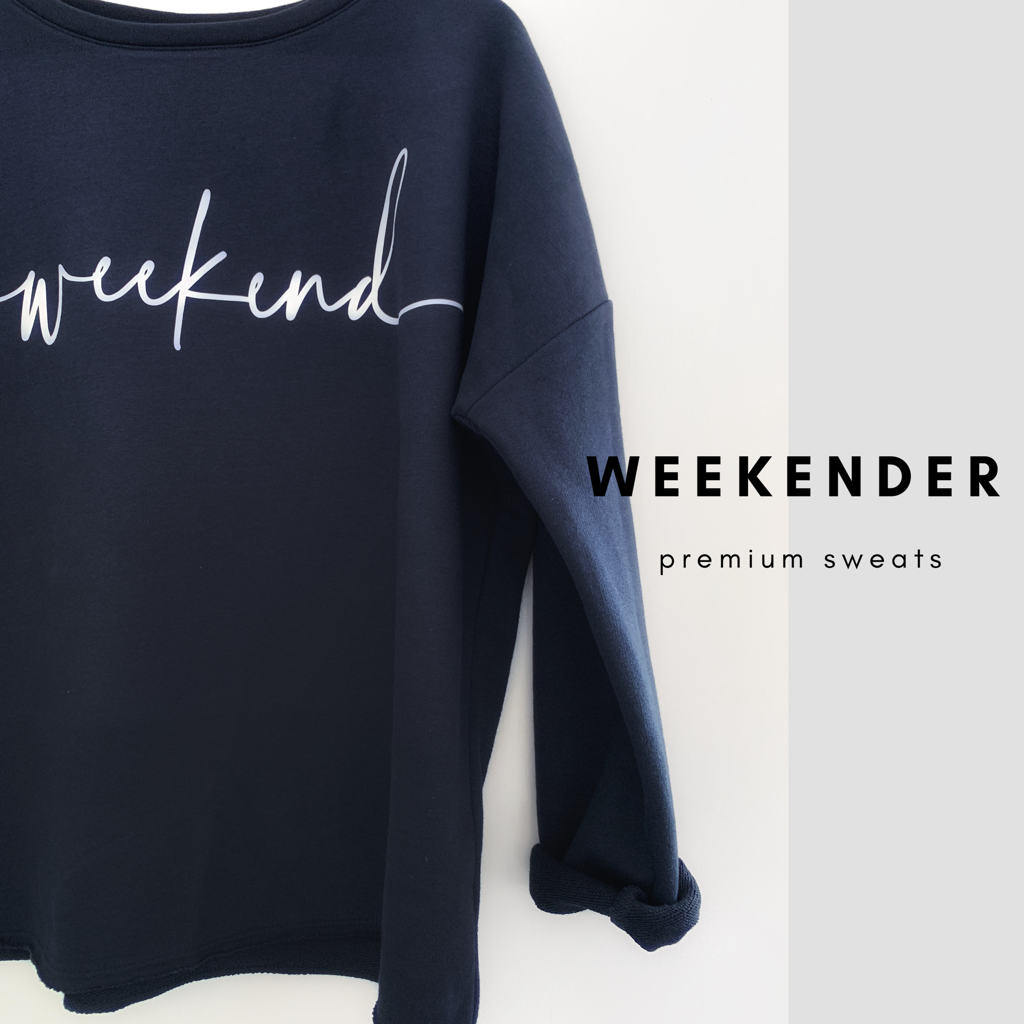 Relaxed Weekend Sweatshirt