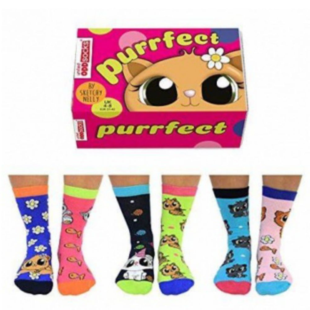 Purrfect Oddsocks