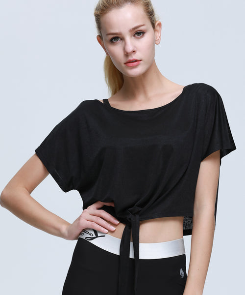 Swift Tie-Front Crop Top