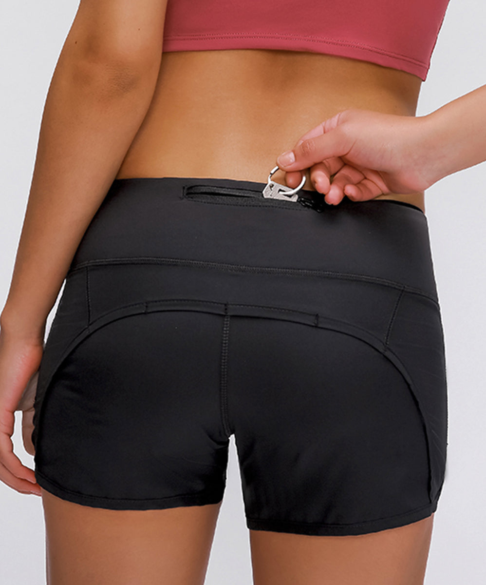 Bella Rush Ultra Light Shorts with Back Pocket
