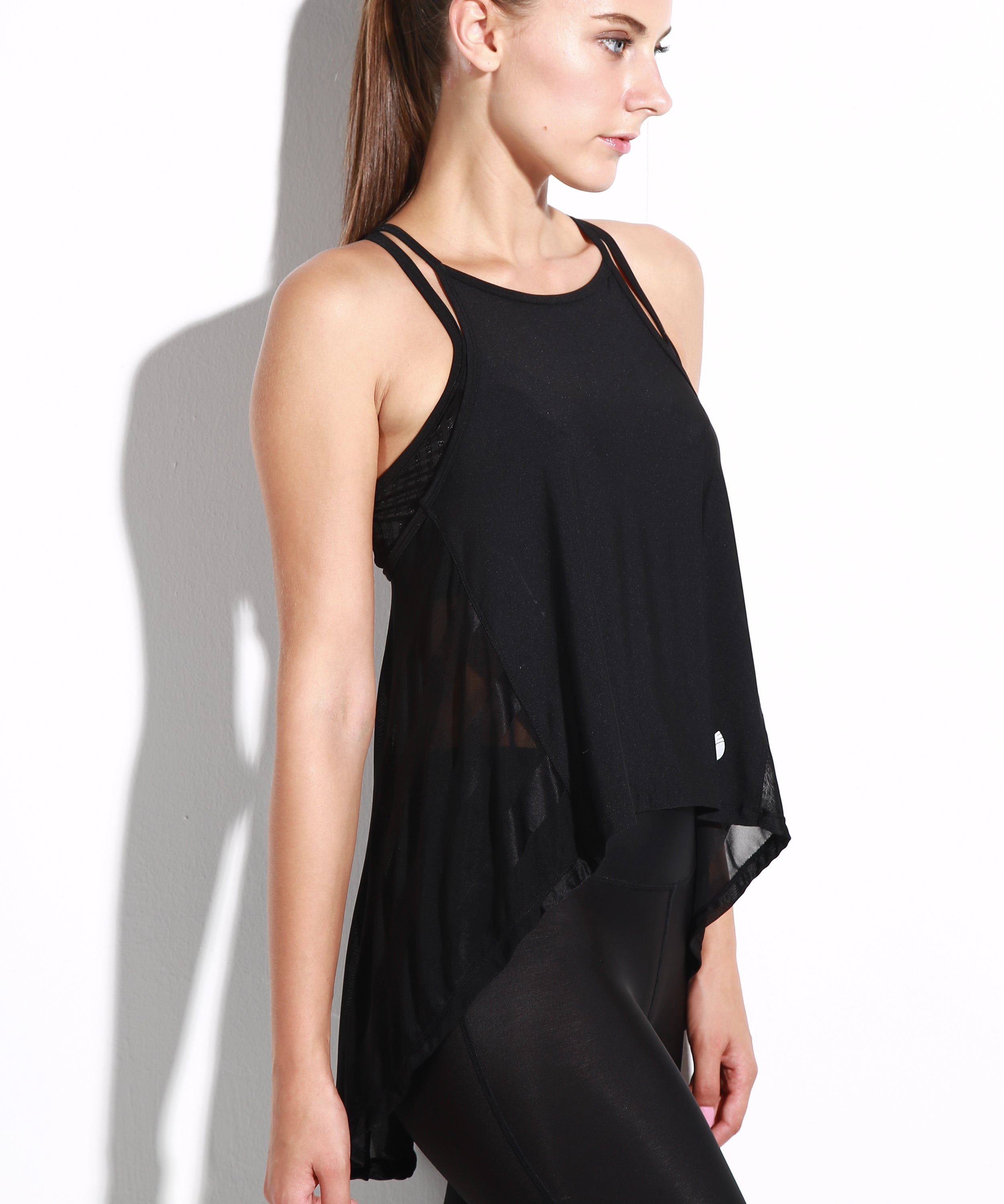Bella Goddess Draped-Back Top
