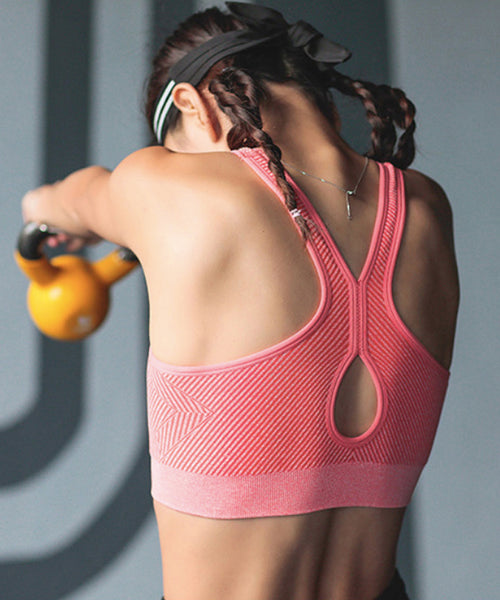 Sweat Drop Seamless Medium-Support Sports Bra