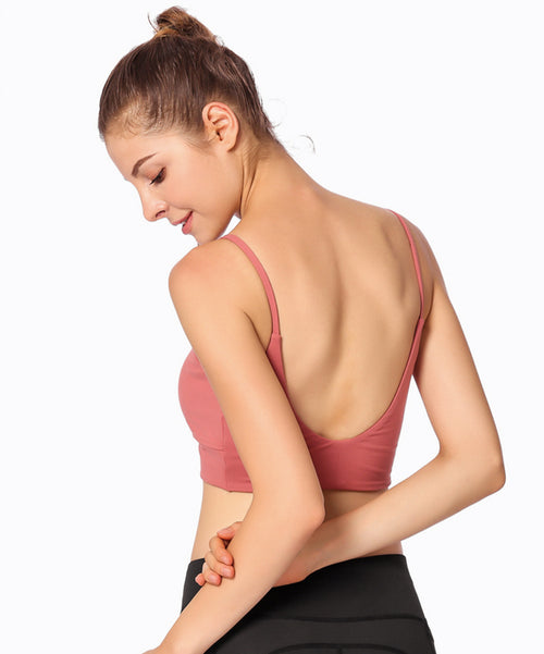 Bella Yoga Low-Support Bare-Back Bralette