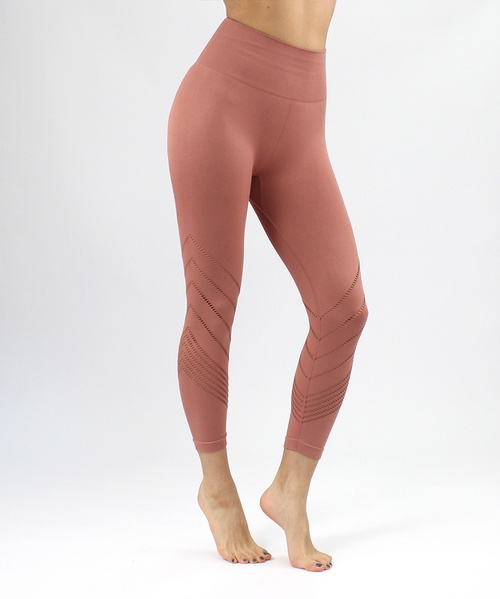 Sierra High-Rise 7/8 Length Seamless Leggings