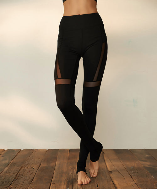Bella Black Yoga Leggings
