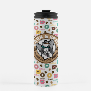 Coffee Lover Donuts / B + B Thermal Travel Tumbler