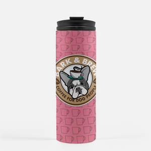 Pink Coffee Cups / B + B Thermal Travel Tumbler