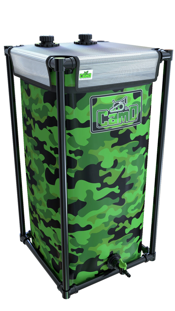 120LTR CAMO® Tank - led grow lights KingOfLeds
